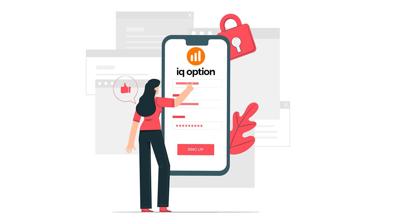 IQ Option में साइन अप और लॉग इन अकाउंट कैसे करें